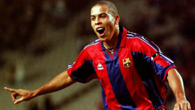 Ronaldo Barcelona 1996 Compostela