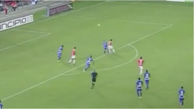 Michael Ohana flick goal