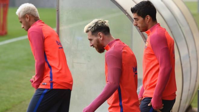 Neymar, Messi and Suarez