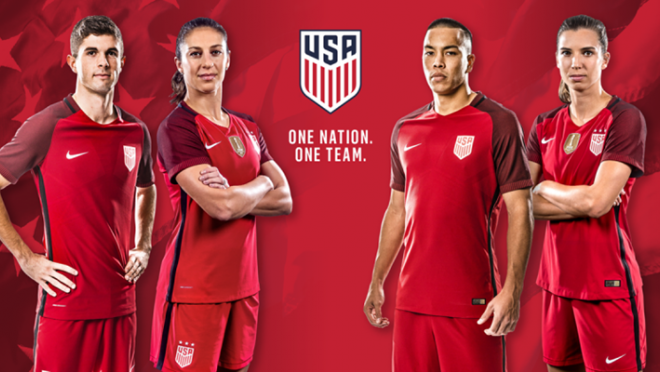 US Soccer New Kits