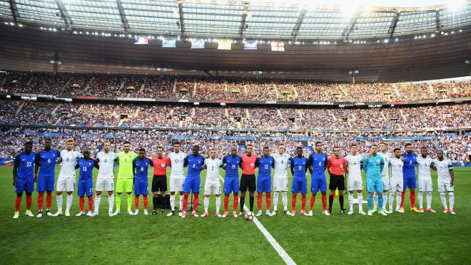 England VS France international friendly minute of silence