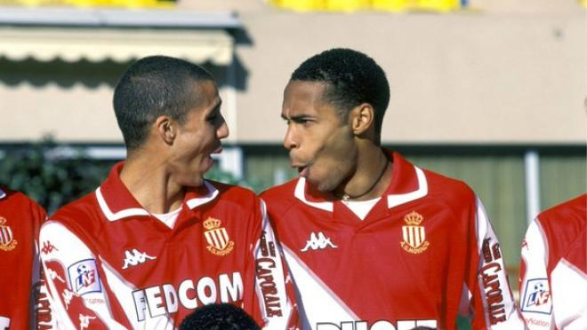 David Trezeguet and Thierry Henry