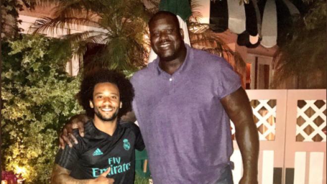 Marcelo Meets Shaq