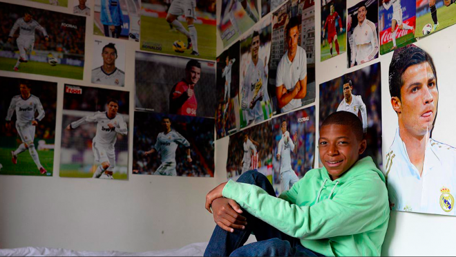 Mbappe Idolized Ronaldo At Age 14