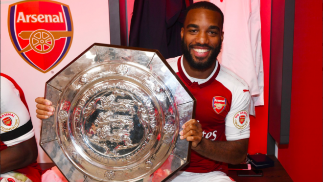 Alexandre Lacazette Community Shield