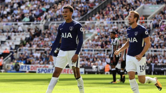 Dele Ali Harry Kane Goal Celebration