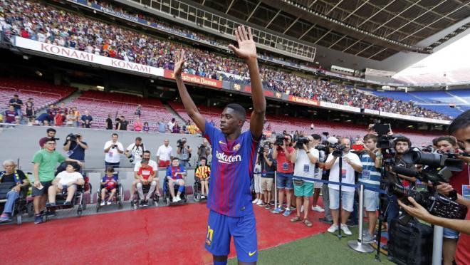 Barcelona Sign Ousmane Dembele