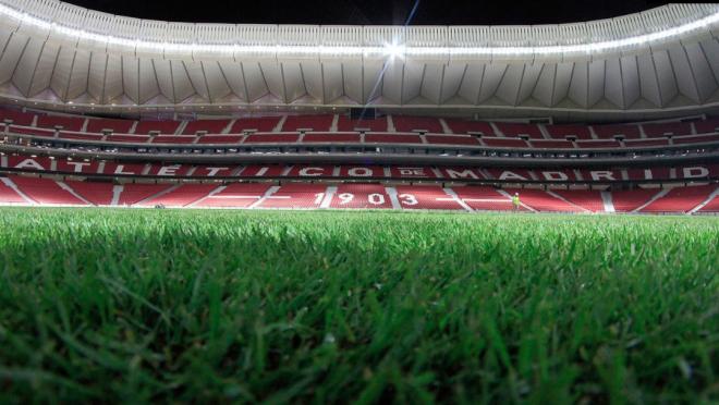 Wanda Metropolitano time-lapse, Atletico Madrid new stadium