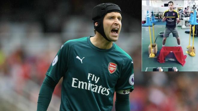 Petr Cech Workout