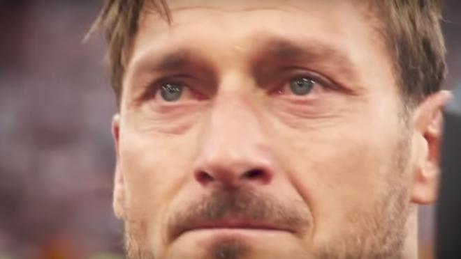 Totti farewell video
