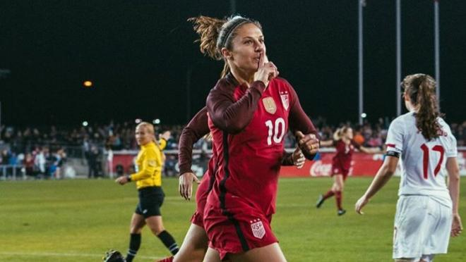 Carli Lloyd goal