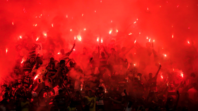 Fans At Copa Sudamericana Final