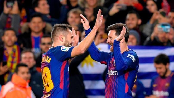 Messi-Jordi Alba goals