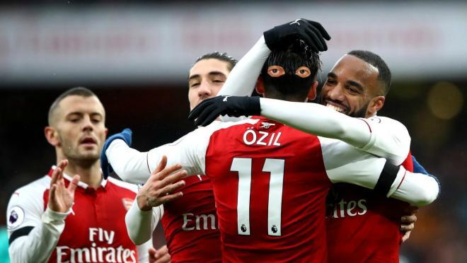 Mesut Ozil assist vs Crystal Palace