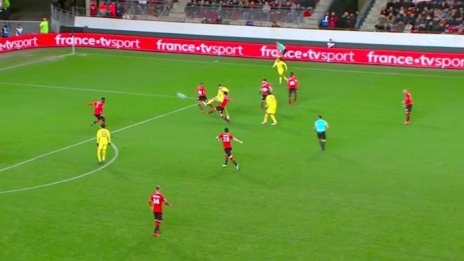 Thomas Meunier goal vs Rennes