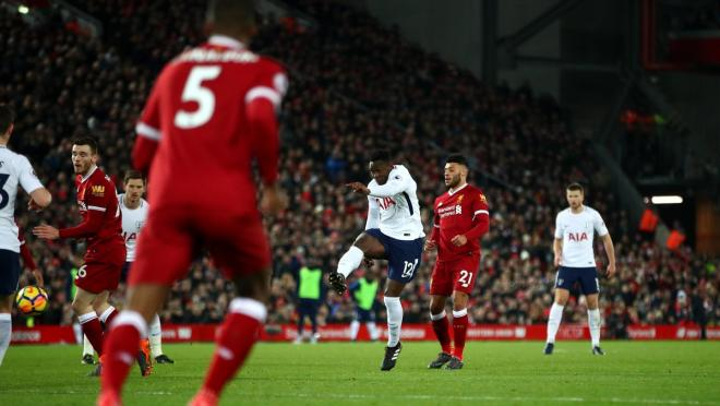 Victor Wanyama goal vs Liverpool