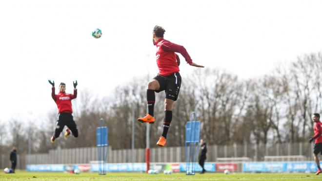 Bayer Leverkusen Goalkeeper Training