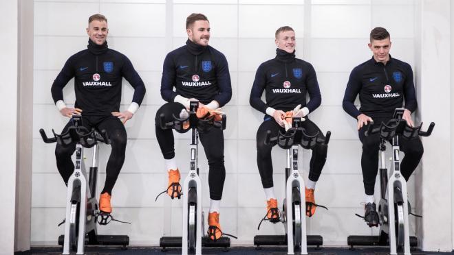 England National Team Training
