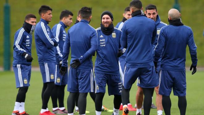 Argentina National Team Training