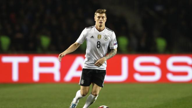 Toni Kroos Germany vs Spain
