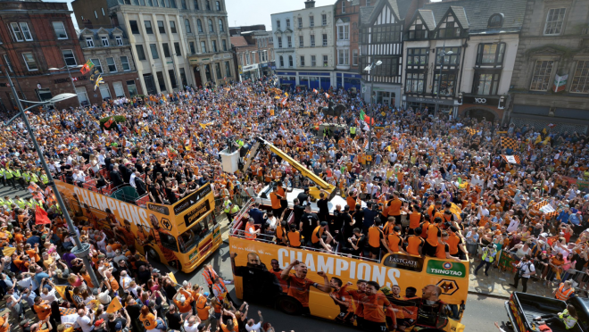 Wolverhampton Wanderers Title Celebration
