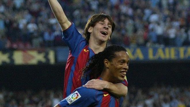Young Lionel Messi goals