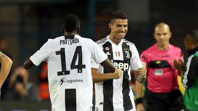 Ronaldo Goal vs Empoli