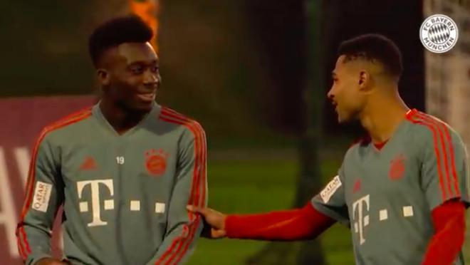 Alphonso Davies Bayern highlights