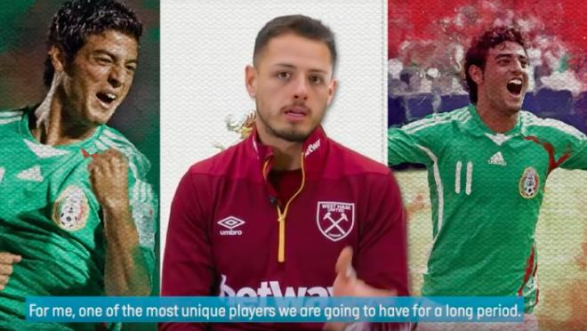 Chicharito West Ham interview