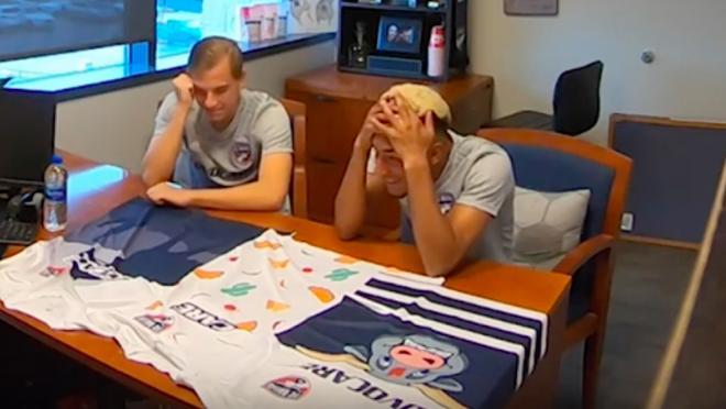 FC Dallas jersey prank