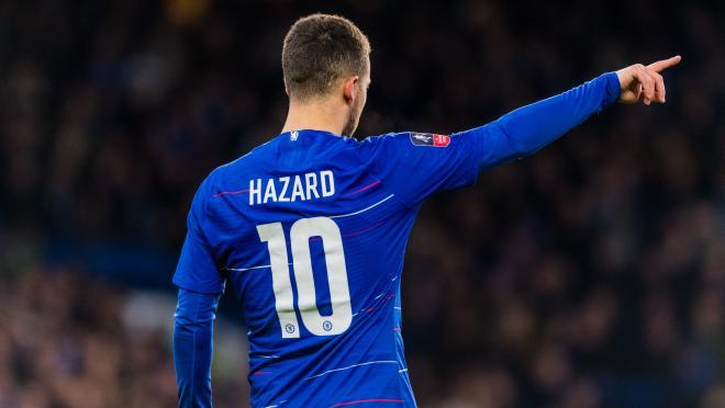 Eden Hazard In FA Cup 5th Round Match