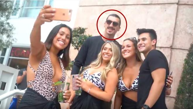 Zlatan Ibrahimovic look-alike
