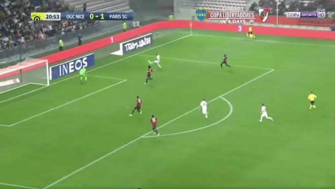 Di Maria Goal vs Nice