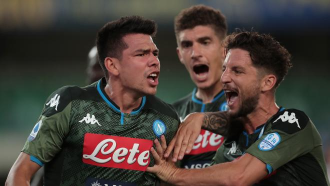 Chucky Lozano Goal vs Hellas Verona