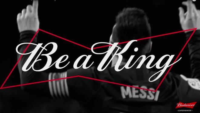 Messi Budweiser