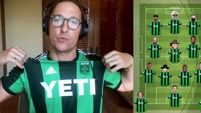 Matthew McConaughey Austin FC Starting XI