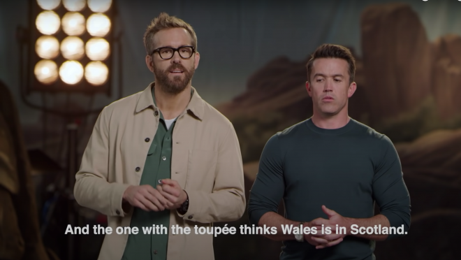 Rob McElhenney and Ryan Reynolds Soccer Team Wrexham AFC in 'Welcome To Wrexham'