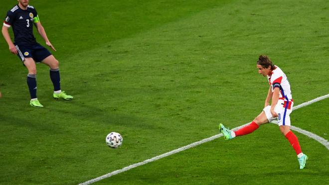 Luka Modrić Goal vs Scotland Euro 2020
