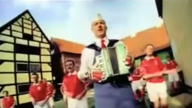 Best Soccer Commercial — Peter Schmeichel selling bacon