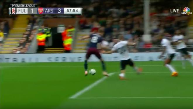 Aaron Ramsey goal vs Fulham