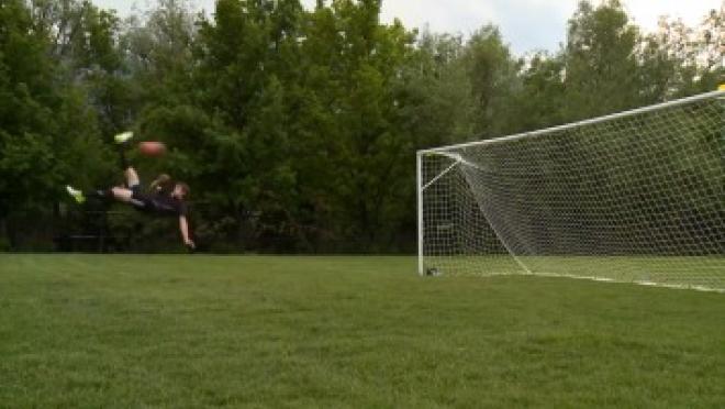 Bicycle Kick Soccer Skills Training Video