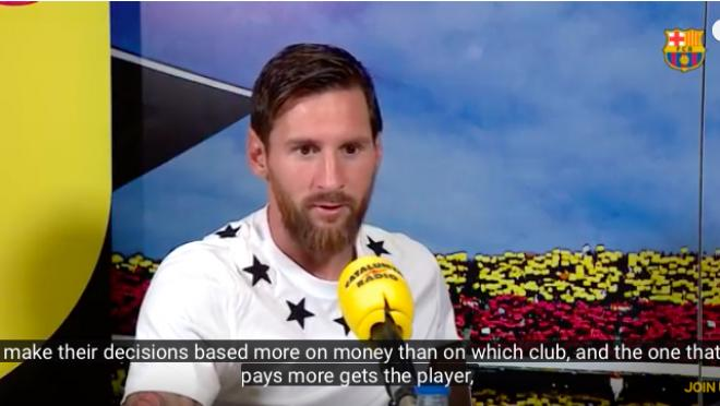 Lionel Messi long interview