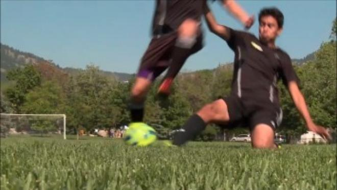 The18 Soccer Skills Video Slide Tackle