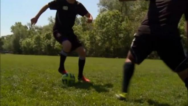 V Drag Soccer Skills Training Video