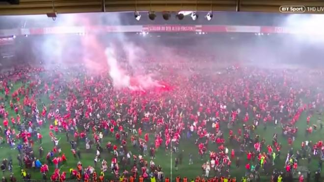 Union Berlin promotion celebration