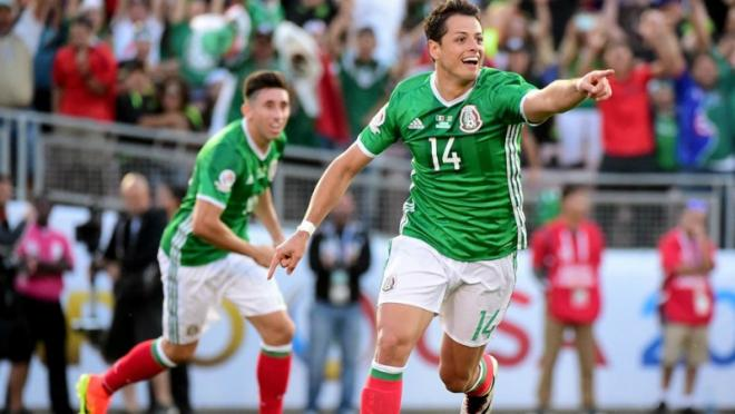 Chicharito lifts Mexico to a 2-0 win over Jamaica.
