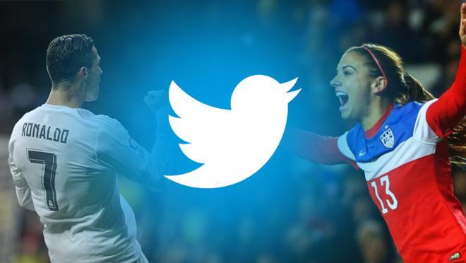 Soccer Twitter Accounts: Cristiano Ronaldo and Alex Morgan