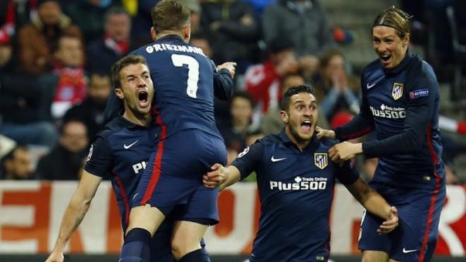 Antoine Griezmann HUGE away goal gave Atleti the tiebreaker.