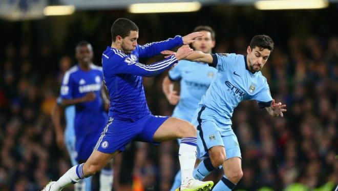 Chelsea-Manchester-City-English-Premier-League-England-Diego Costa-Jose-Mourinho-Manuel-Pellegrini-Sergio-Aguero-James-Milner-Frank-Lampard