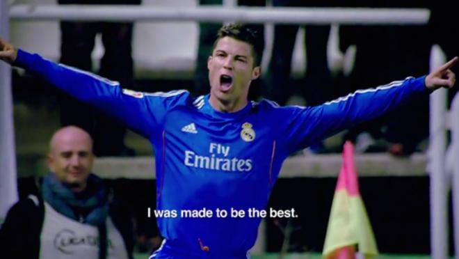 Cristiano Ronaldo's movie is coming out.